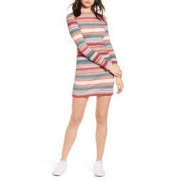 Smooth Dreamer Long Sleeve Stripe Dress