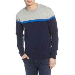 Core Slim Fit Colorblock Sweater