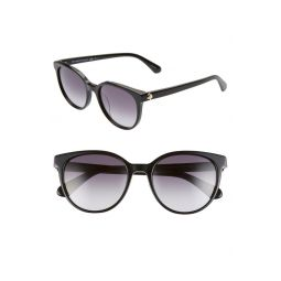 melanie 52mm round sunglasses