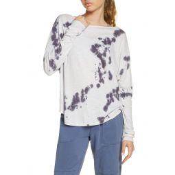Garment Wash Long Sleeve Studio T-Shirt