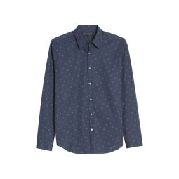 Irving Circuit Slim Fit Button-Up Shirt