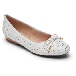Shea Perforated Tie Flat