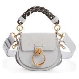 Small Tess Calfskin Leather Shoulder Bag