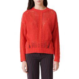 Mazet Open Crochet Sweater