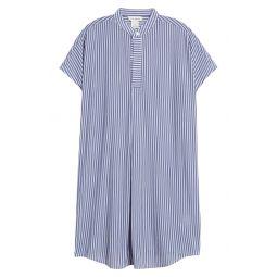 Stripe Shirtdress