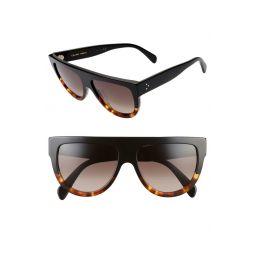 58mm Flat Top Sunglasses
