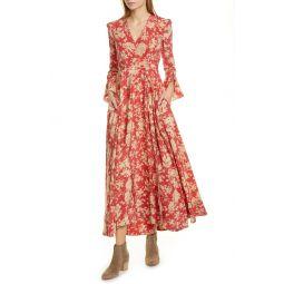 Harlow Floral Wrap Dress