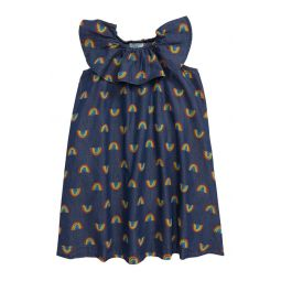 Stella McCartney Rainbow Print Chambray Dress