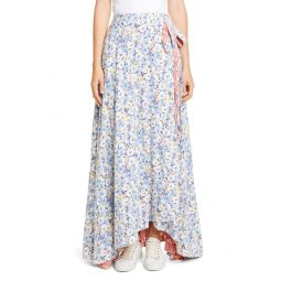Lye Reversible Wrap Maxi Skirt