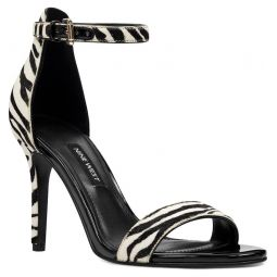 Ankle Strap Genuine Calf Hair Sandal