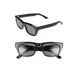 53mm Polarized Rectangle Sunglasses