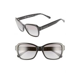 56mm Rectangular Sunglasses