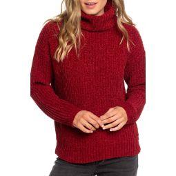Velvet Morning Turtleneck Sweater