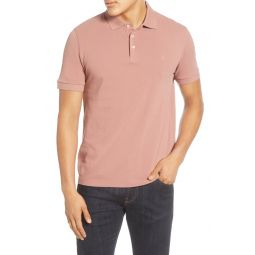 Regular Fit Solid Pique Polo