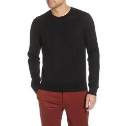 Luxe Merino Wool Blend Crewneck Sweater