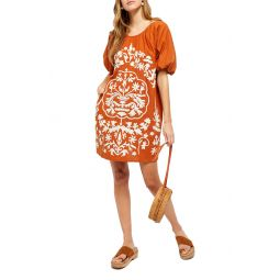 Fiona Embroidered Minidress