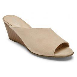 Taylor Asymmetric Wedge Slide Sandal