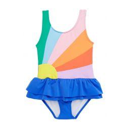 Boden Flower One-Piece Swimsuit