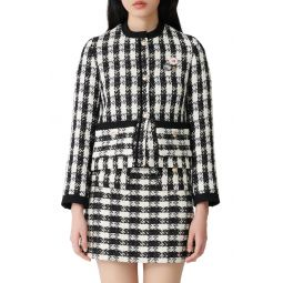 Vicky Check Tweed Jacket