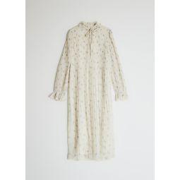 GANNI Pleated Georgette Dress   Need Supply Co.