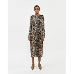 GANNI Silk Stretch Satin Dress   Need Supply Co.