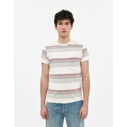 Levis Vintage Clothing 1960S Casual Stripe Tee in Grey | Need Supply Co.