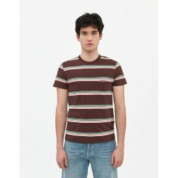 Levis Vintage Clothing 1960S Casual Stripe Tee in Brown | Need Supply Co.