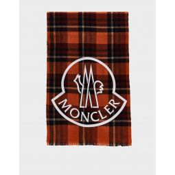 Moncler Plaid Scarf | Need Supply Co.