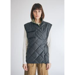 GANNI Recycled Ripstop Vest   Need Supply Co.