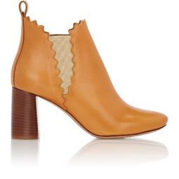 Scalloped Ankle Boots