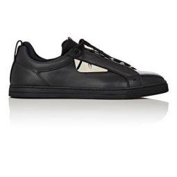 Mens Bag Bugs Leather & Neoprene Sneakers