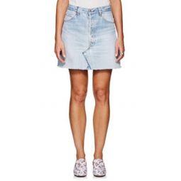 High Rise Levis Miniskirt