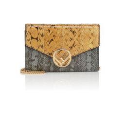 Snakeskin Chain Wallet