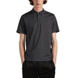 Cotton-Blend Pique Polo Shirt