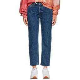 High Rise Stovepipe Jeans