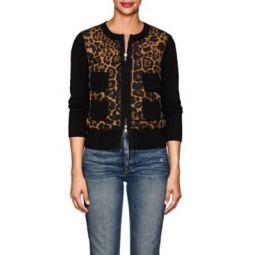 Corenna Cheetah-Print Jacket