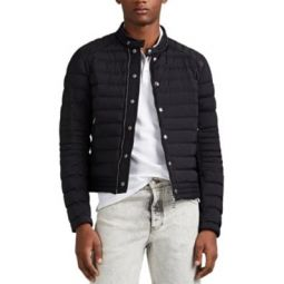 Barral Down-Quilted Moto Puffer Jacket