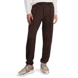 Logo-Striped Cotton-Blend Fleece Sweatpants
