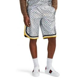 Logo Laminated-Tech-Jersey Shorts