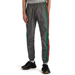 GG-Pattern Jogger Pants