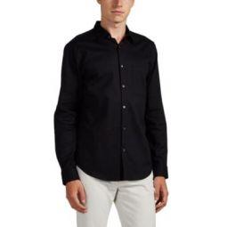 Brushed Cotton Twill Shirt