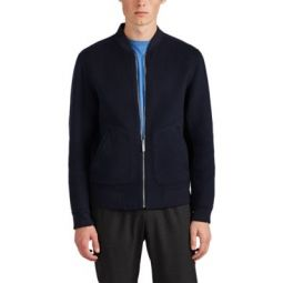 Double-Faced Cashmere Bomber Jacket