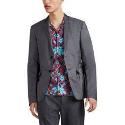 Tech-Fabric Two-Button Sportcoat