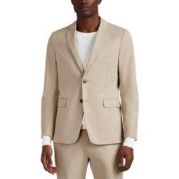 Clinton Cotton Unstructured Sportcoat