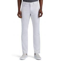 Haydin Slim-Straight Cotton Trousers