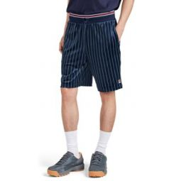 Lamotta Striped Velour Drawstring Shorts