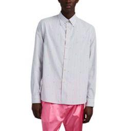Striped G Cotton Fil Coupe Shirt