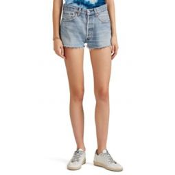 High Rise Levis Cutoff Shorts