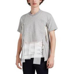 Cutout Cotton Terry Sweatshirt
