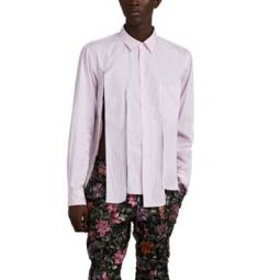 Slashed Striped Cotton Shirt